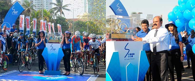 "SLT ""SpeedUp Cycle Sawariya"" Flags Off | Welcome to Sri Lanka Telecom"