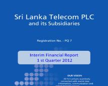 interim reports welcome to sri lanka telecom